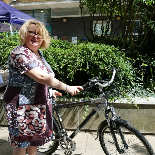Vicky of Enfield Council
